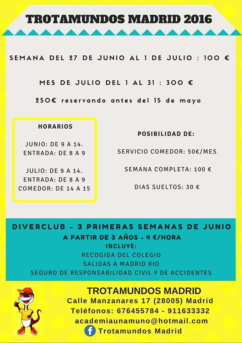 Informacion Trotamundos AMPA